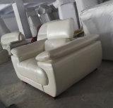 Sofà moderno nero, mobilia di cuoio del sofà (C40)