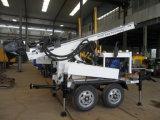 新しいモデル! Hf150tのトレーラーによって取付けられる空気圧縮機の井戸の掘削装置