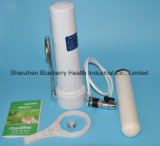 Filtre / purificateur d'eau de bureau avec filtre à eau en céramique Bouchon de carbone combiné, Kdf et sulfite de calcium