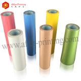 Heiße stempelnde Folie für Papier/Plastik/Leder/Gewebe/Gewebe/Holz/Glas