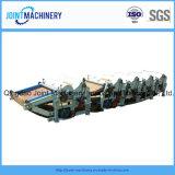 O desperdício do algodão/de algodão da maquinaria limpeza da tela recicl a máquina