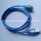 USB 2.0 Female Extension CableへのMale