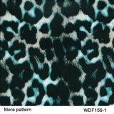 Пленка Wdf642-3 Hydrographics печатание перехода воды конструкции животной кожи ширины Kingtop 1m