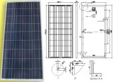18V 150W Polycrystalline Solar Panel picovolt Module com ISO Certification do TUV