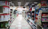 Supermarkt-Möbel-Gondel-Bildschirmanzeige-Stahlregal/Fach