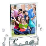Da fábrica cristal branco do Sublimation da foto da venda por atacado 3D diretamente