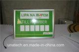 Средств доски СИД меню рамки алюминия коробка щелчковых светлая