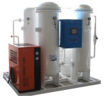 고품질 산소 발전소 채우는 산소 가스통