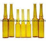 bernsteinfarbige Glasampulle 2ml