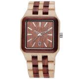 ODM/OEM 형식 도매 나무로 되는 손목 시계 석영 남자의 나무로 되는 시계