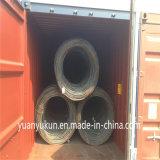 Gemaakt in de Gehele Verkoop Milde Ungalvanized SAE 1006/1008/1010 Rollen 7mm van China van de Draad van het Staal