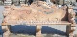 Banco di marmo intagliato per la decorazione del giardino