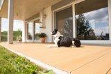 Plancher en bois du Decking WPC de la fibre WPC d'eucalyptus de classiques