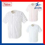 Дешевые изготовленный на заказ рубашки Джерси бейсбола оптовой продажи логоса вышивки команды одевая формы