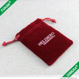 El bolso del regalo del lazo del terciopelo, terciopelo empaqueta al por mayor