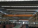 Het Hijstoestel dat van de Fabriek van het staal de Dubbele Kraan van de Brug van de Straal 15 opheft Ton 20 Ton