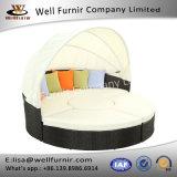 クッションが付いているFurnir健康なWf-17074の寝台兼用の長椅子