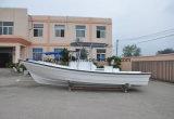 Venda do barco 760 do Panga do iate da pesca da fibra de vidro da alta qualidade de Liya