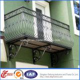 Bello recinto residenziale economico del ferro saldato (dhfence-17)