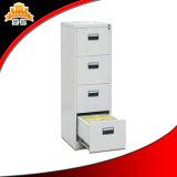 Governo di archivio d'acciaio di ufficio delle forniture del fornitore del cassetto moderno d'acciaio di memoria 4