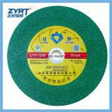 卸し売り良質の平らなステンレス鋼の研摩剤の切口の車輪