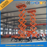 Hydraulic aereo Vertical Work Platform Street Light Lift per Maintenance