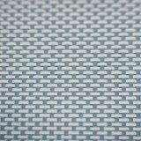 Bicolor 4X4 PVC Woven Placemat