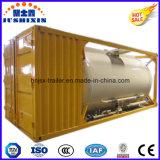 40FT 20FT 22.5cbm ISO 대량 석탄 또는 시멘트 분말 탱크 콘테이너