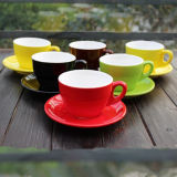 150ml pas Kop van de Koffie van de Kop van de Koffie van de Kleur de Ceramische aan