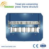 Prensa de goma calificada superior de la pisada de la estructura del marco