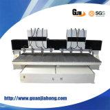 Japan-Servomotor, Taiwan-quadratische Schiene, hölzerne CNC-Fräser-Maschine