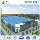 Entrepôt de structure métallique de constructions industrielles d'étage simple