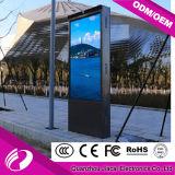 tablilla de anuncios de LED de la publicidad al aire libre de la pantalla del vídeo de 4.81m m