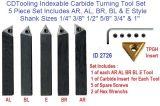 Комплект инструмента Indexable Lathe CNC поворачивая