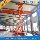 4-20m Four-Wheels Mobile Hydraulic Scissor Platform Lift