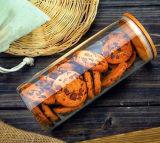 vaso di bambù di memoria dell'alimento di vetro di Borosilicate del coperchio 400ml