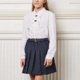 Camisa de la muchacha y al Uniformes cuadrícula escuela falda al por mayor de