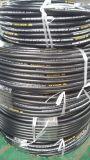 Boyau en caoutchouc hydraulique de pétrole de boyau d'En853 1sn 2sn SAE 100r1 R2