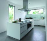 2PAC blanc Kitchen Cabinet #M-L58, White Lacquer Kitchen (M-L58)