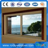 Polvere doppio Windows di vetro di alluminio rivestito e portelli