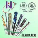 Solid Carbide 4 Flutes Square Tiain Coating End Mill