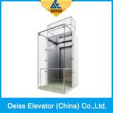 Ascenseur guidé panoramique d'observation de capsule de Vvvf de constructeur professionnel