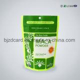 Opblaasbare Plastic PE van de Verpakking van de Snack Zak