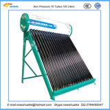 Fábrica solar del calentador de agua de la No-Presión de China