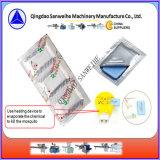 カのマットの化学投薬のシーリングおよび包装機械(SWW-240-6)