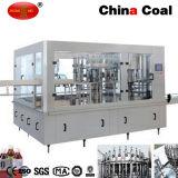 máquina de enchimento carbonatada automática da bebida da água 3-in-1 mineral