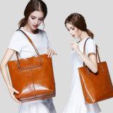 Dame Tote Bag Made van Echt Leer