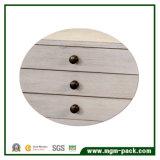 Коробка ювелирных изделий просто оптовой продажи верхнего качества деревянная