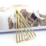 めっきされる簡単な方法宝石類の金は三角形のヘアピンをくり抜く