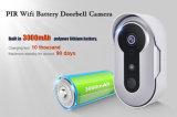 Doorbell sem fio da câmara de vídeo do IP IR de WiFi do pixel mega clássico do projeto 1.3